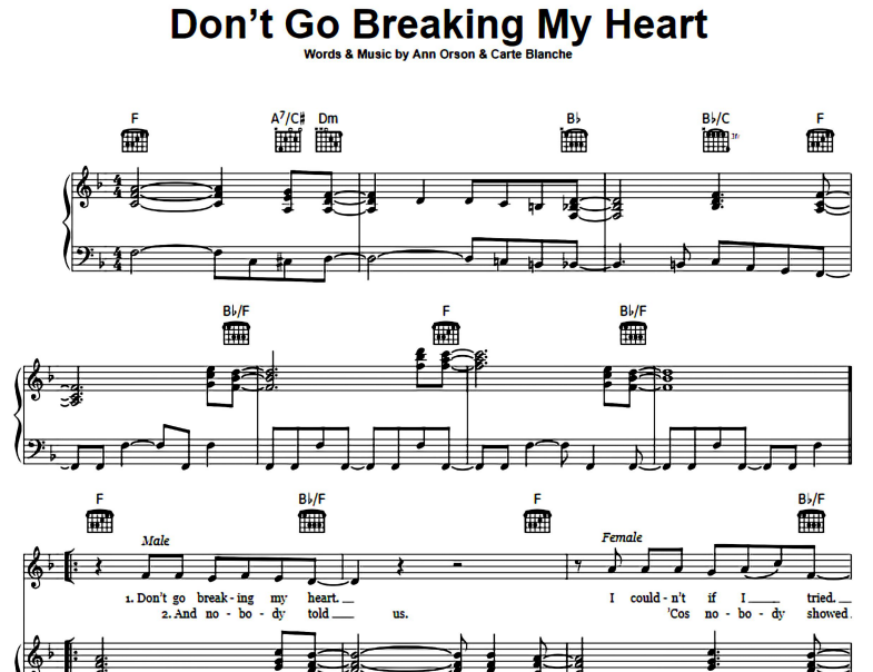 Elton John-Don't Go Breaking My Heart