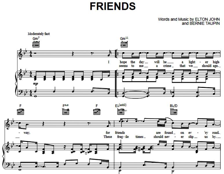 Elton John-Friends