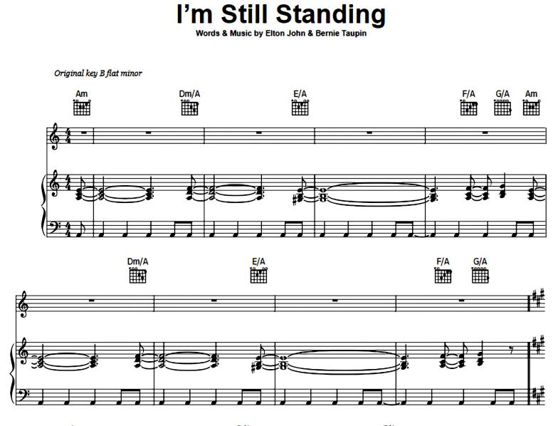 Elton John-I'm Still Standing