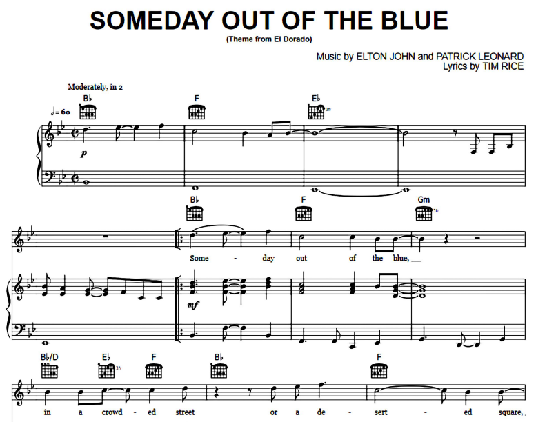 Elton John-Someday Out Of The Blue