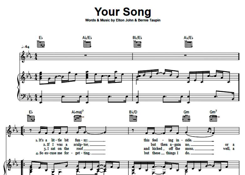 Elton John-Your Song