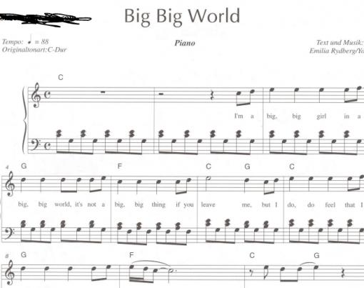 Emilia-Big Big World