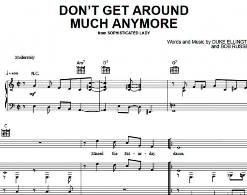 Etta James-Don't Get Around Much Anymore