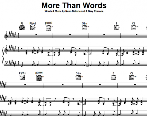 Extreme-More Than Words