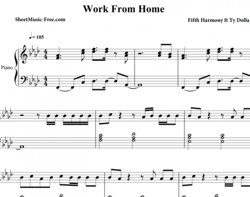 Fifth Harmony-Work From Home