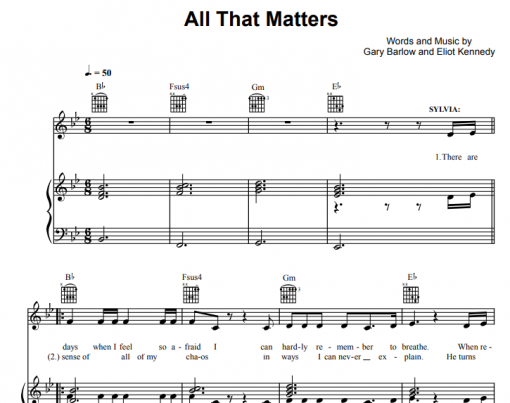Finding Neverland-All That Matters