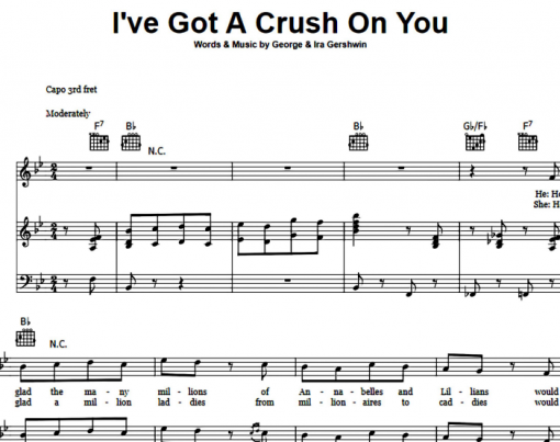 Frank Sinatra-I've Got A Crush On You