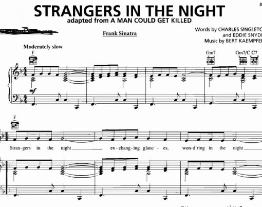 Frank Sinatra-Strangers In The Night