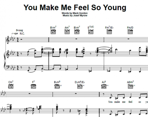 Frank Sinatra-You Make Me Feel So Young