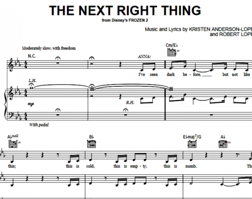 Frozen-The Next Right Thing