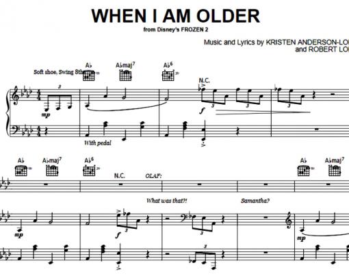 Frozen-When I Am Older