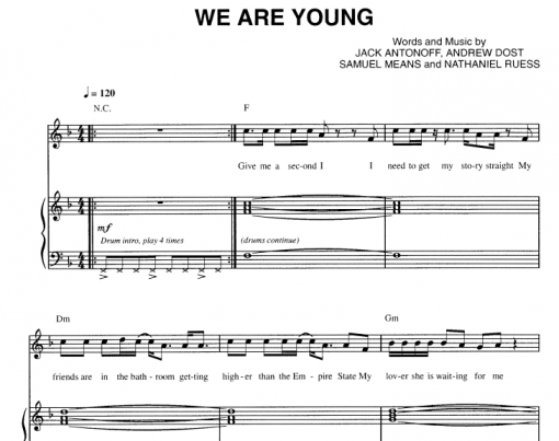 Fun-We Are Young