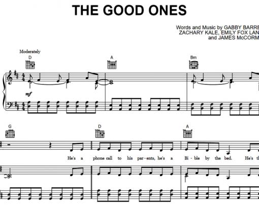 Gabby Barrett-The Good Ones