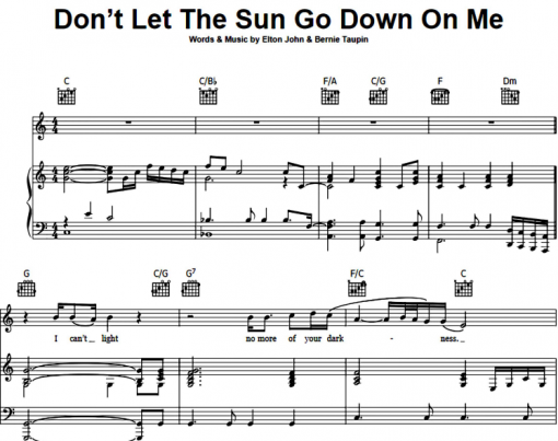 George Michael-Don't Let The Sun Go Down On Me