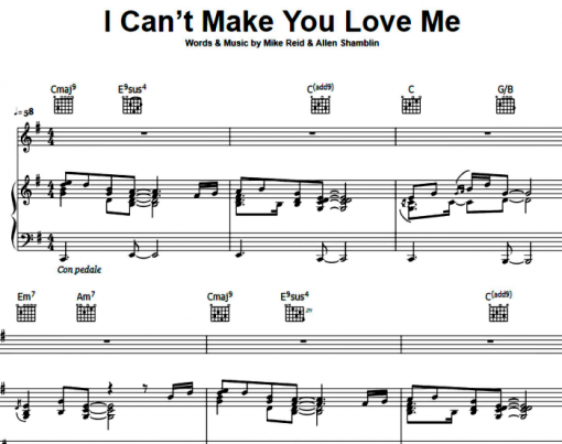 George Michael-I Can't Make You Love Me