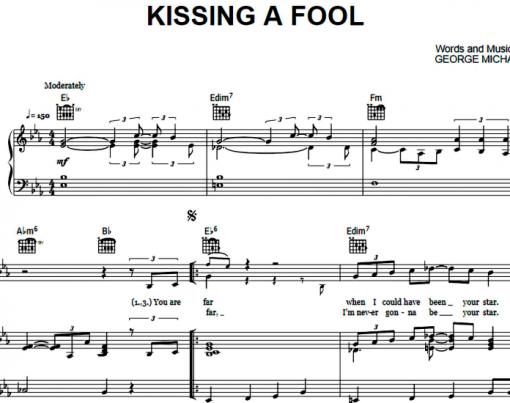George Michael-Kissing A Fool
