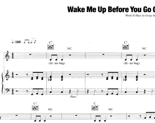George Michael-Wake Me Up Before You Go Go