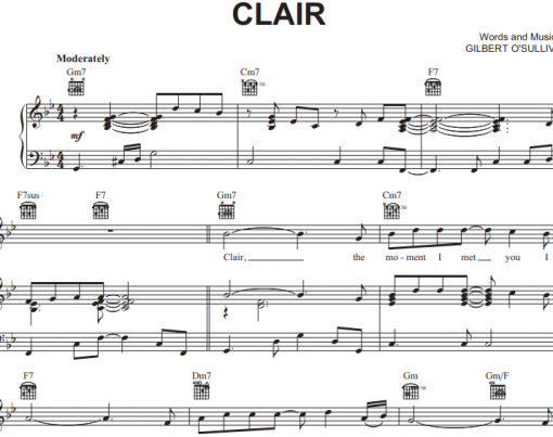 Gilbert O'Sullivan-Clair