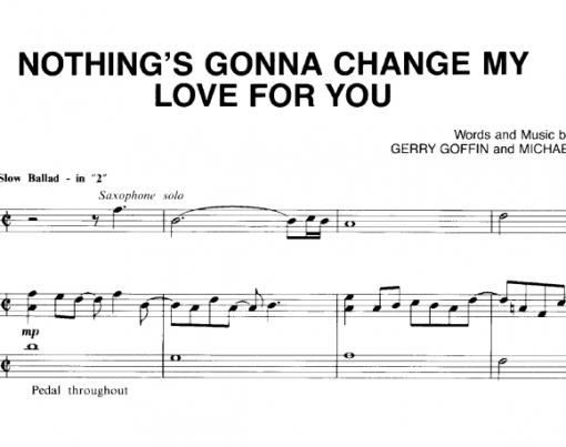 Glenn Madeiros-Nothing's Gonna Change My Love For You