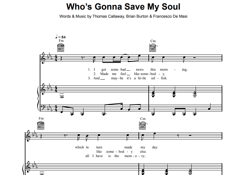 Gnarls Barkley-Who's Gonna Save My Soul