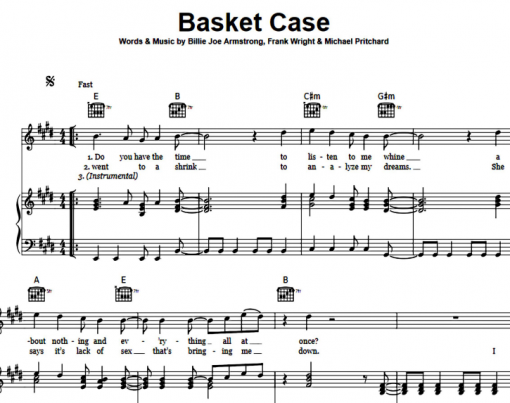 Green Day-Basket Case