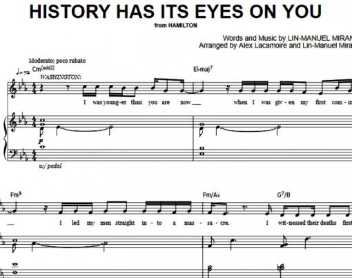 Hamilton-History Has Its Eyes On You