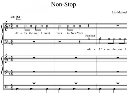 Hamilton-Non Stop