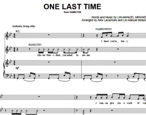 Hamilton-One Last Time