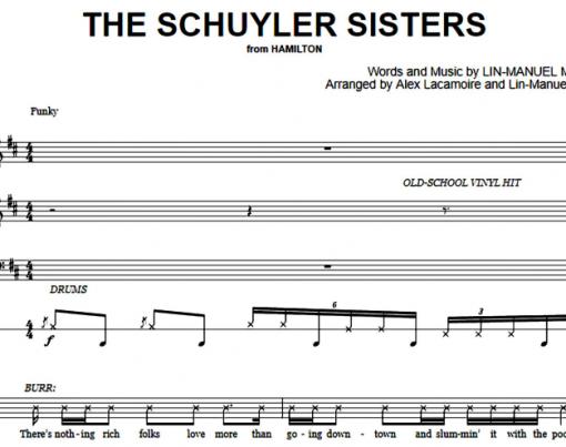 Hamilton-The Schuyler Sisters