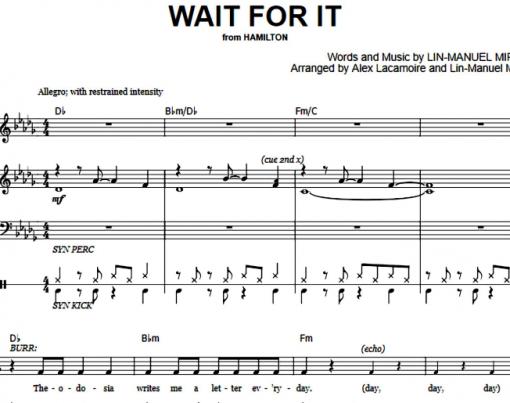 Hamilton-Wait For It