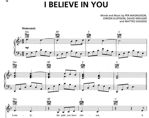 Il Divo-I Believe In You