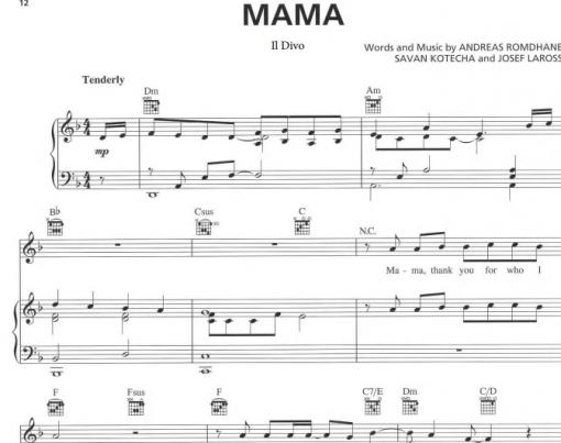 Il Divo-Mama