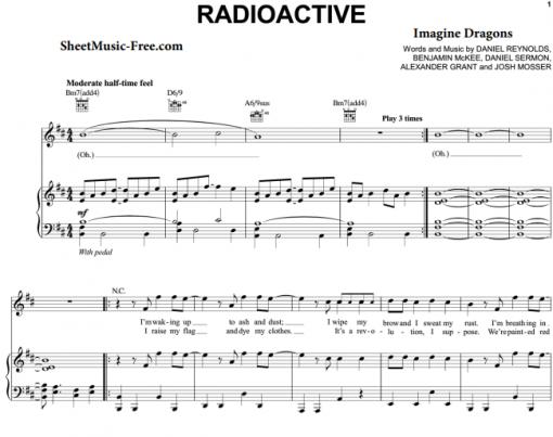 Imagine Dragons-Radioactive